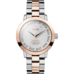 Vivienne Westwood Bloosbury Two-Tone Zirconia 35mm Watch