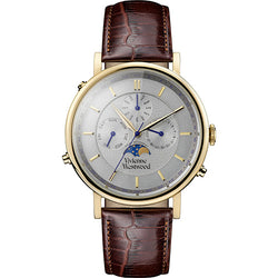 Vivienne Westwood Portland Yellow-Gold Tone 40mm Men's Watch