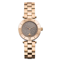 Vivienne Westwood Westbourne Rose-Gold Tone Zirconia 28mm Watch