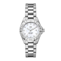 TAG Heuer Aquaracer Steel Diamond Mother of Pearl 27 mm Women's Watch