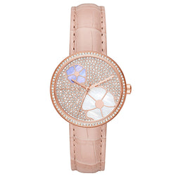 Michael Kors Courtney Flower & Pearl Dial 36 mm Ladies Watch