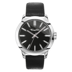 Thomas Sabo Rebel at Heart Steel Black 46 mm Gents Watch