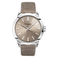 Thomas Sabo Rebel at Heart Steel Taupe 46 mm Gents Watch