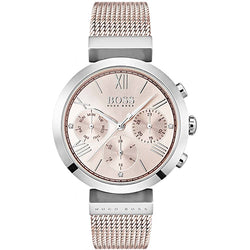 Hugo Boss Classic Sport Rose-Gold Plated Steel 34 mm Ladies' Watch