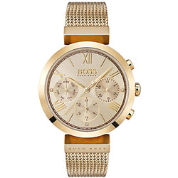 Hugo Boss Classic Sport Gold-Plated Steel 34 mm Ladies' Watch