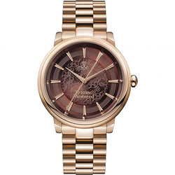Vivienne Westwood Shoreditch Rose-Gold Steel 37 mm Women's Watch