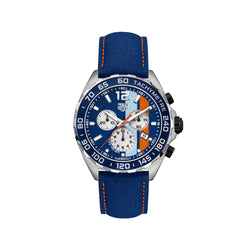 TAG Heuer Formula 1 Steel Blue 43 mm Men's Watch