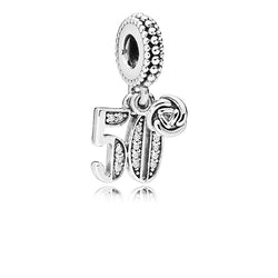 PANDORA 50 Years of Love Pendant Charm