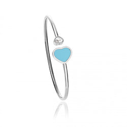 Chopard Happy Hearts Happy Diamonds Turquoise Open Bangle