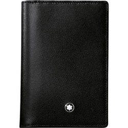 Montblanc Meisterstück Black Business Card Holder with Gusset