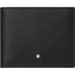 Montblanc Sartorial Black Full-Grain Leather 6cc Wallet