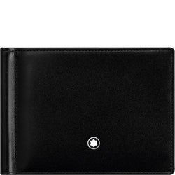 Montblanc Meisterstück Black Leather Wallet with Money Clip