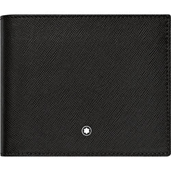 Montblanc Sartorial Black Full-Grain Leather 8cc Wallet