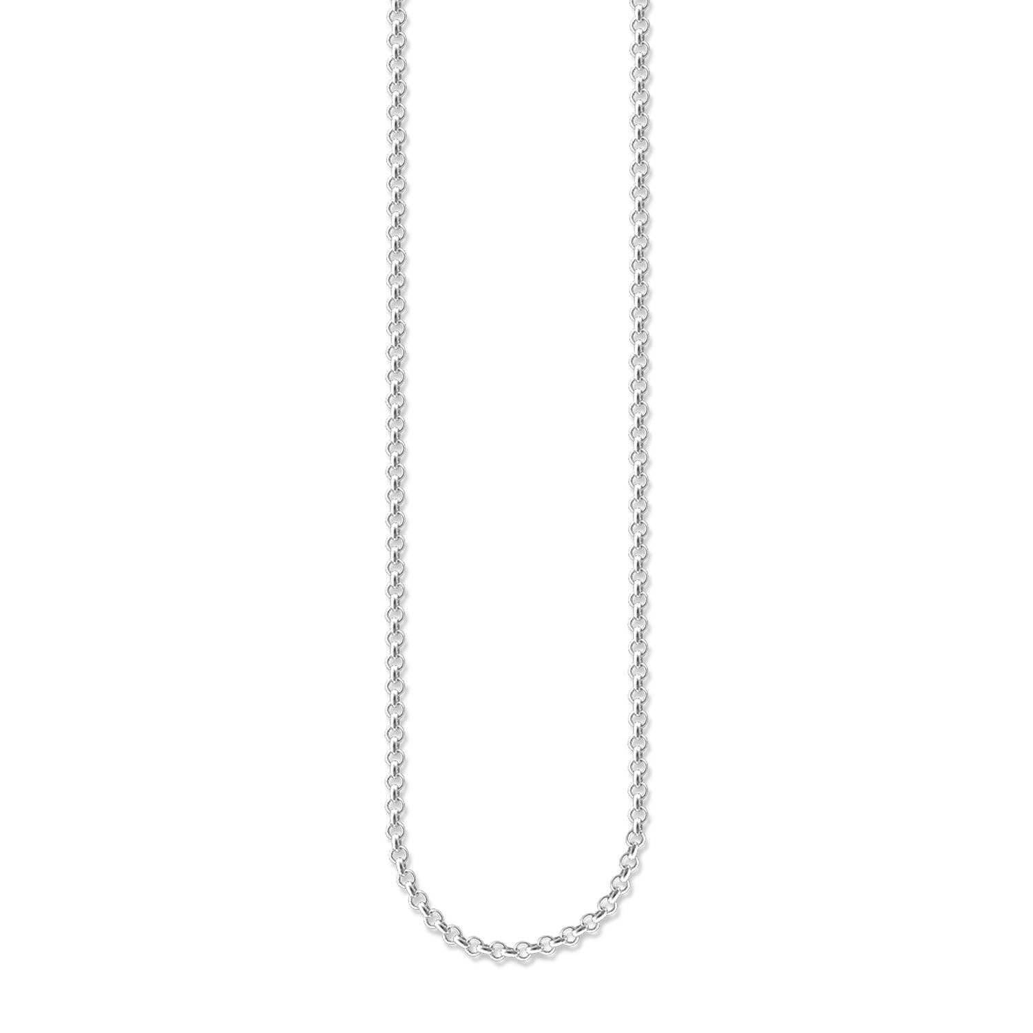 Thomas Sabo Charm Club Silver Round Belcher Necklace