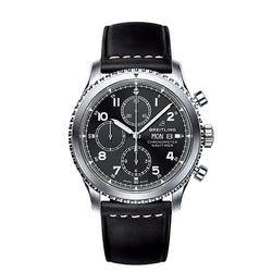 Breitling Navitimer 8 Chronograph B13 Steel Black 43 mm Gents Watch