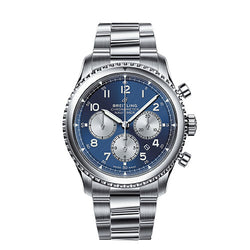 Breitling Navitimer 8 B01 Chronograph Steel Blue 43 mm Automatic Watch