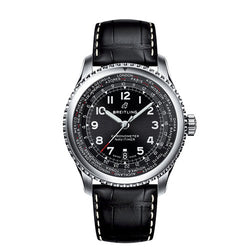 Breitling Navitimer 8 B35 Unitime Steel Black 43 mm Automatic Watch PRE-ORDER