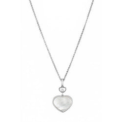 Chopard Happy Hearts Happy Diamonds White-Gold Pendant Necklace