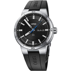 Oris TT1 Day Date Steel Black 42 mm Automatic Men's Watch