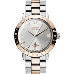 Vivienne Westwood Bloomsbury Steel & Rose Two-Tone 35 mm Watch