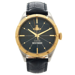 Vivienne Westwood Conduit Steel Gold & Blue 40 mm Men's Watch