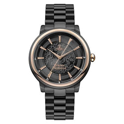 Vivienne Westwood Shoreditch Black Steel 37 mm Women's Watch