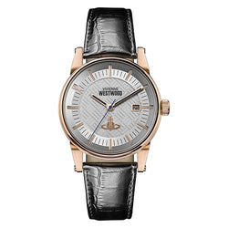 Vivienne Westwood Finsbury II Rose-Gold PVD Steel 42 mm Watch