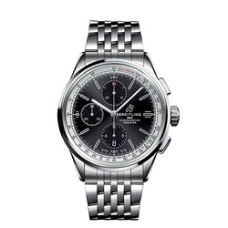 Breitling Premier Chronograph 42 Steel Black 42 mm Automatic Watch