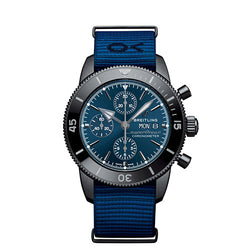 Breitling Superocean Héritage II Chronograph 44 Outerknown Blue 44 mm Watch PRE ORDER