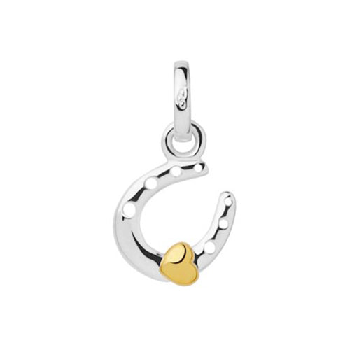 Links of London Mini Horseshoe & Heart Charm