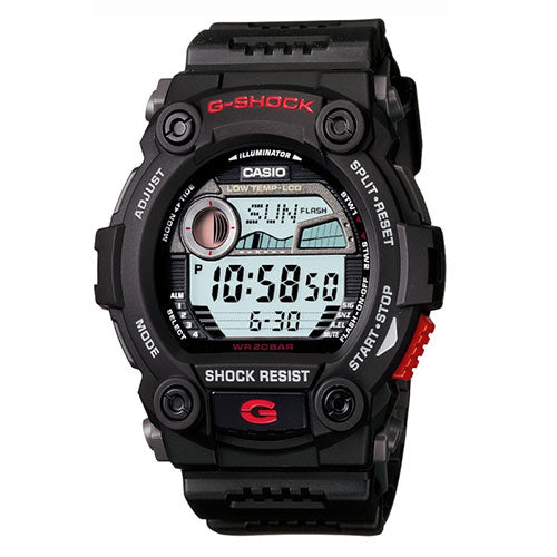 G-Shock Gents Black & Red Analogue Digital Display Watch