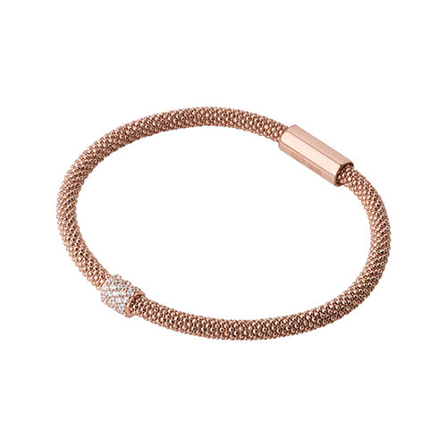 Links of London Rose Gold Plated Star Dust Bead Bracelet