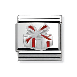 Nomination Composable Classic Red Gift Box Charm