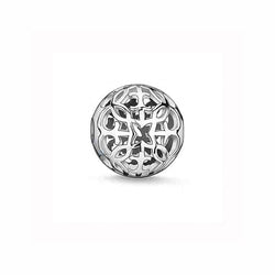 Thomas Sabo Silver Arabesque Karma Bead