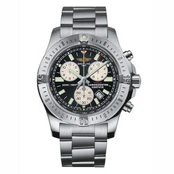 Breitling Colt Chronograph 44 mm Black & Steel Men's Watch