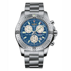Breitling Colt Chronograph 44 mm Blue & Steel Men's Watch