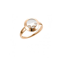 Chopard ladies Happy Curves Rose Gold Ring