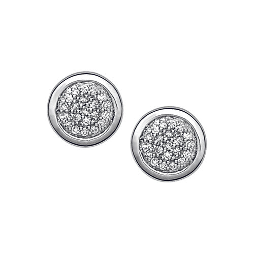 Links of London Diamond Pavé Stud Earrings