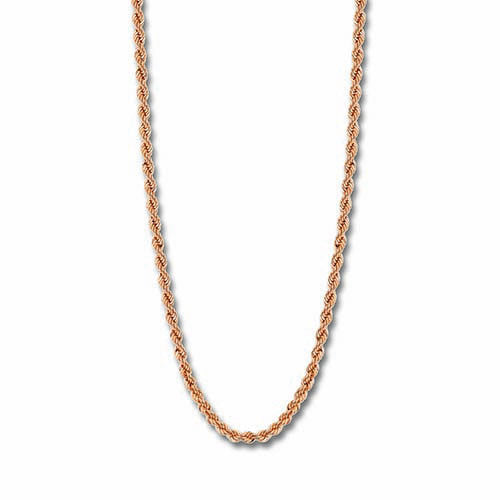 Mi Moneda Rose Gold Plated Saprano Necklace