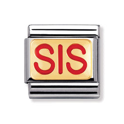 Nomination Composable Classic Sis Charm