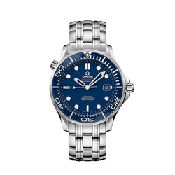 Omega Seamaster 300m Chronometer 41mm Blue Dial Men's Watch