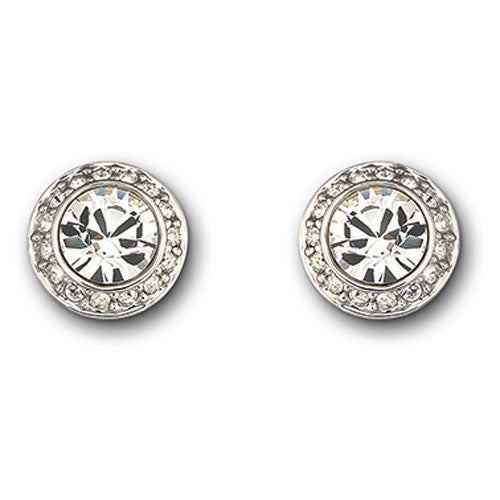 Swarovski Angelic Pierced Stud Earrings