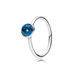 PANDORA December Droplet Ring