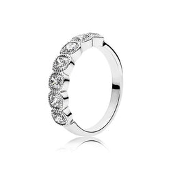 PANDORA Silver Alluring Cushion Ring