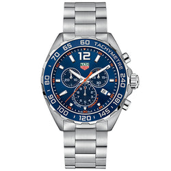 TAG Heuer Formula 1 43 mm Blue Dial Chronograph Men's Watch