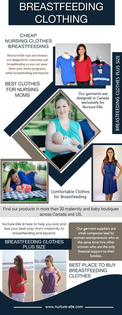 Clothes For Breastfeeding Moms