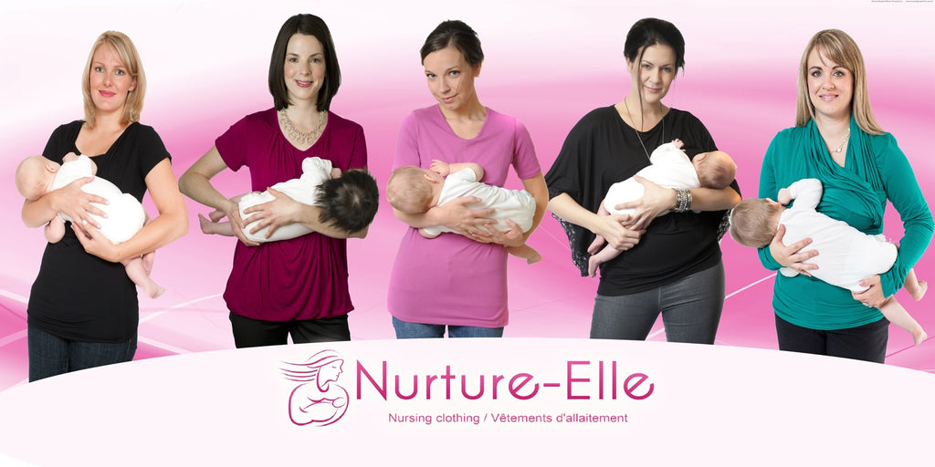 Nurture-Elle Breastfeeding clothing