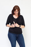 Cowl Neck Nursing Top - Three Quarter Sleeve