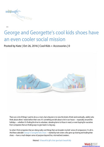 Cool Mom Picks George & Georgette