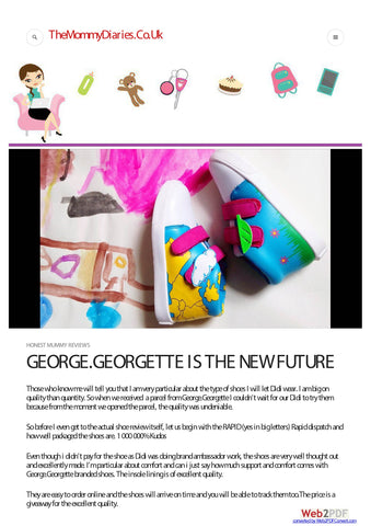 George & Georgette Review by The Mommy Diaries